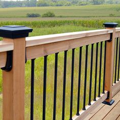Deck railing isn't just a security function. It can add a sensational visual to mount a decked location or veranda. These 36 deck railing ideas reveal you how it's done! Deck Railing Design, Patio Deck Designs, Deck Railings, Patio Design, Aluminum Deck Railing, Back Deck Designs, Outdoor Railings, Pergola Patio, Pergola Kits