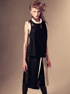 ☆ Anna Selezneva   Photography by Andreas Sjodin   For Vogue Magazine Japan   January 2012 ☆ #Anna_Selezneva #Andreas_Sjodin #Vogue #2012