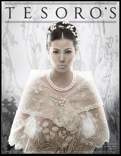 I wanted to make something more modern and young for the traditional Pina shawl. Was inspired by renaissance style portraiture mixed with a futuristic f. Filipiniana Wedding, Filipiniana Dress, Boho Wedding, Wedding Gowns, Formal Blouses, Costume Ideas, Costumes, Renaissance Fashion, Pinoy