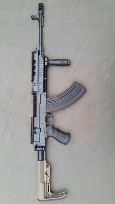 Vz-58 / CZ-858 +MFT Minimalist stock on folding tube
