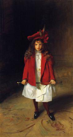 The Honourable Victoria Stanley 1899. John Singer Sargent (1856-1925) • download painting • Gallerix.ru