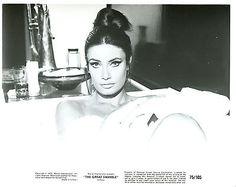 Marisa Mell  in Bathtub 8x10 original photo T2218