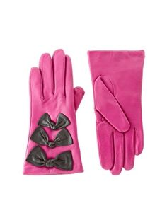 I already bought bow gloves this winter but I also really love theeeese