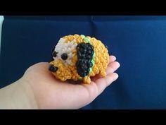 かぎ編みで編む(only hook)ツムツム(TSUM TSUM)プルート(Pluto)レインボールーム(rainbow loom) - YouTube