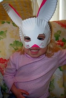 Easter Craft: Bunny Masks!