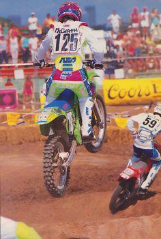 Jeremy McGrath on the KX125