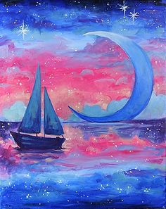 Sailing In a Dream painting