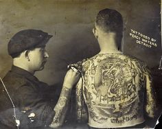 Percy Waters tattooing in Detroit
