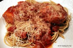 Crock Pot Chicken Marinara Sauce - 101 Cooking For Two