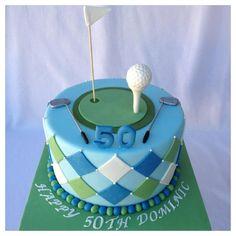 Golf cake by Lydia Dalton.....