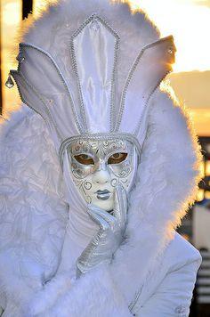 Carnival in Venice, Italy.   Flickr - Photo Sharing!
