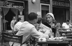 Ruth Orkin: . Florence, Italy 1950's Jinx Allen (now known as Ninalee Craig),