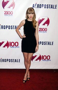Taylor Swift at Z100's Jingle Ball 2012, Madison Square Garden in New York City #starpulse
