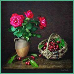 Irina Prihodko Rubrics, Still Life, Christmas Bulbs, Planter Pots, Fruit, Holiday Decor, Painting, Home Decor, Photography