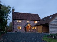 Cottages - Border Oak - oak framed houses, oak framed garages and structures.