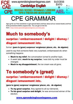 CAE CPE Key Word Transformation Grammar Much to someone's surprise Cambridge English exams