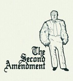 """Right to """"bear"""" arms... It's my right!"""