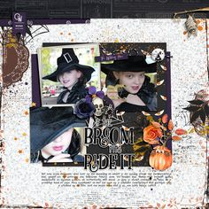 My little witch All with Chills n Thrills collection by Anita Designs and Meg Designs http://shop.thedigitalpress.co/Chills-n-Thrills-Collection.html