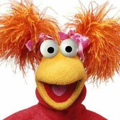 It's Red!!! Down in Fraggle Rock!