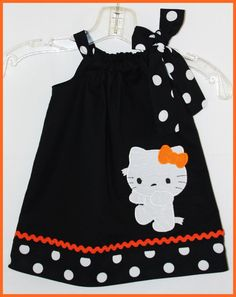 NEW Super Cute Halloween Mummy Hello Kitty dress   http://weewhimsycouture.com/item_66/NEW-Super-Cute-Halloween-Mummy-Hello-Kitty-dress.htm