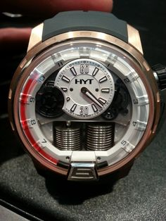 HYT H1 Red2 Fluid Watch (pic: Perpetuelle.com)