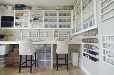 Sarah Wilson's home office and studio via Houzz - photo by Sarah Greenman