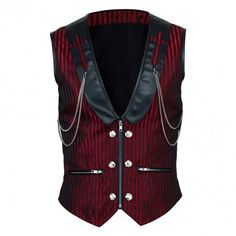 Bernward Waist Coat Model VG-16419-XS Condition New Refined gothic style, perfect standard fit; flawless looks and intriguing features; this waist-coat is everything you need and more! Transform your personal with the addition of this item to your wardrobe!