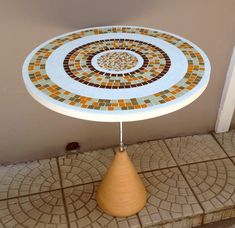 Curso de mosaico, pi