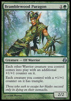 ***Green Elf Collection*** Lorwyn Morningtide Elves Deck MTG Rare Magic Cards