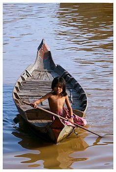 Tonle Sap - Cambodge  © michel BORDIEU