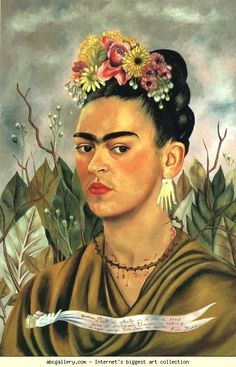 frida kahlo.....self portrait