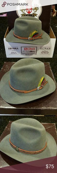 Akubra hat 1997 Akubra pure fur felt hat. Worn once to a wedding 20 years ae5d2792782d