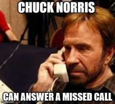 Chuck Norris answers