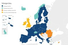 The EU's passport-free travel space, known as the Schengen area, is one of the most tangible achievements of European integration. Learn about it in our guide. Police Information, Visa Information, Travel Information, Countries To Visit, European Countries, Visa Schengen, Schengen Area, European Integration, European Parliament