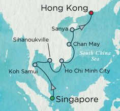 Indochine Discovery Map
