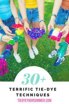 Tie Dye Your Summer!