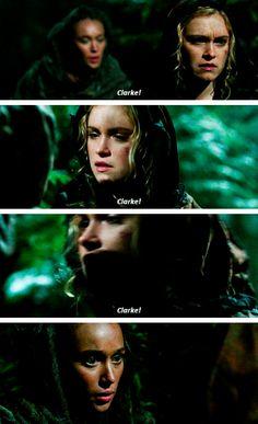 Great Clarke and Lexa moment