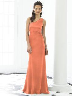 After Six Bridesmaid Style 6643x    #orange #bridesmaid #dress