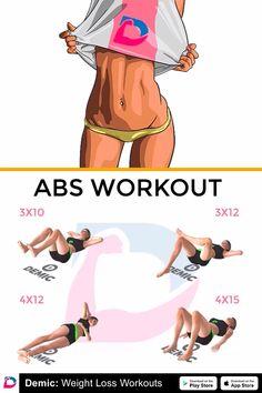Six Pack Abs Workout fоr Men Tiny Waist Workout, Six Pack Abs Workout, Workout Challenge, Ab Workout Men, Abb Workouts, Workout Videos, At Home Workouts, Workout Programs, Fitness Motivation