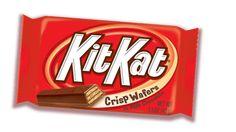 Kit Kat in case of extreme hunger.