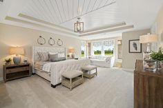 Vanderburgh Owner's Suite tray ceiling, Drees Homes, Cincinnati and Northern Kentucky
