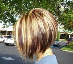 Image result for medium stacked hairstyles 2015
