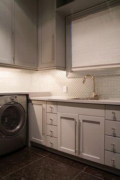 Cabinetry color, hardware, backsplash