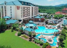 In the heart of Pigeon Forge, Tennessee, with a beautiful view of the Smoky Mountains, Music Road Hotel offers luxurious guest rooms with private balconies overlooking the river, a hot breakfast, and a seasonal outdoor water park and indoor heated pool and spa. Escape to Music Road Hotel for an unforgettable Smoky Mountain experience!