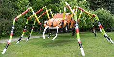 yard art ideas from junk   Junkyard Art   Ripleys Believe It or Not!