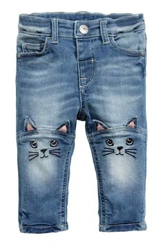 ISO of these cute kitty jeans