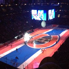 The Habs with an amazing audio-visual experience