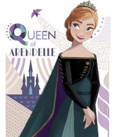 Her Royal Majesty, Queen Anna of Arendelle — fansoffrozenyt: It's your turn now Anna Frozen Kids, Frozen Art, Frozen Movie, Anna Frozen, Disney Frozen, Frozen Sisters, Disney Magic, Disney Art, Disney Pixar