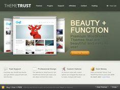 23 Examples of Screenshots in Web Design - Web Design Ledger Design Web, Graphic Design, Portfolio Website Design, Baby Blog, Creating A Blog, Premium Wordpress Themes, News Blog, Get One, How To Start A Blog