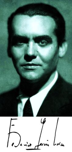 Federico García Lorca fue un poeta, dramaturgo y prosista español, también conocido por su destreza en muchas otras artes. Adscrito a la llamada Generación del 27, es el poeta de mayor influencia y popularidad de la literatura española del siglo xx.